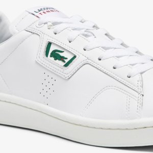 Zapatillas Lacoste máster classic blanca 2