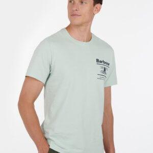 Camiseta Barbour faro verde 1