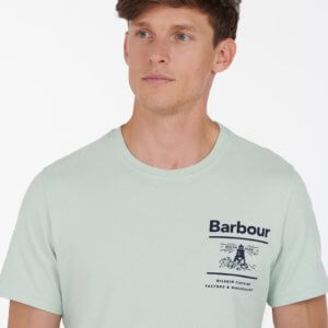 Camiseta Barbour faro verde 2