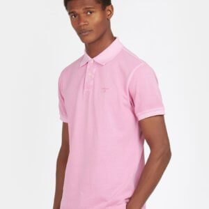 Polo Barbour Lavado malva 1