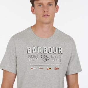 Camiseta Barbour rope marl 1