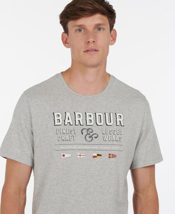Camiseta Barbour rope marl 1