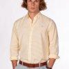 Camisa H&N amberes amarilla 1