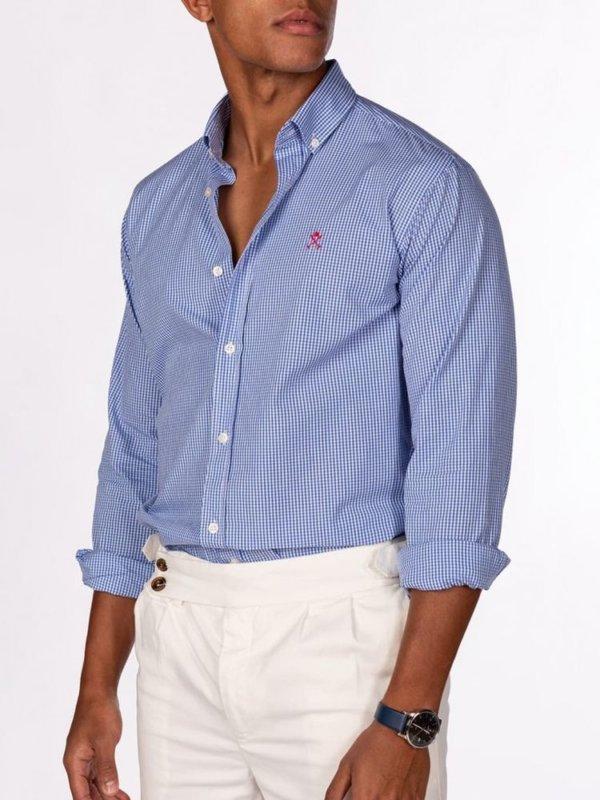 Camisa Harper & Neyer Amberes Azul 3
