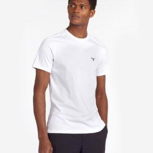 Camiseta Barbour básica blanca 1