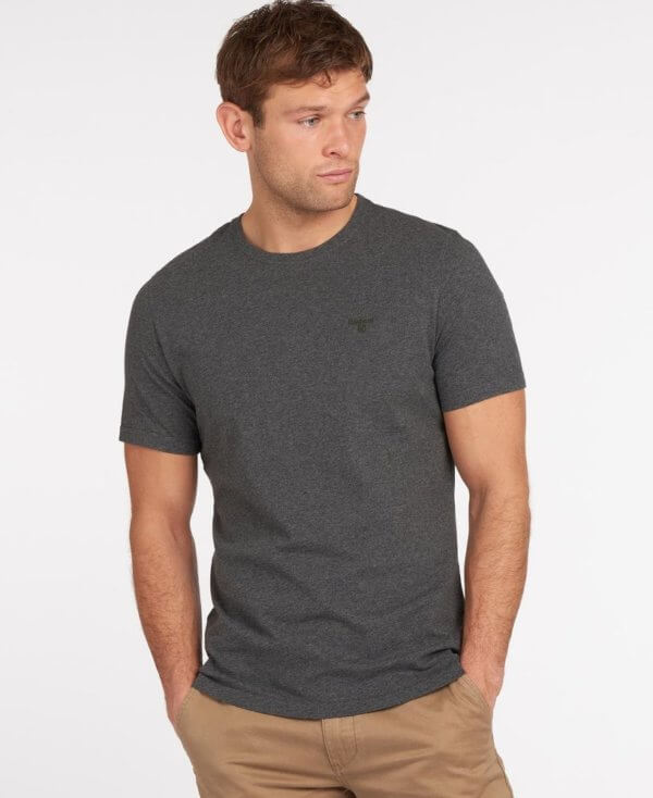 Camiseta Barbour Logo gris 1