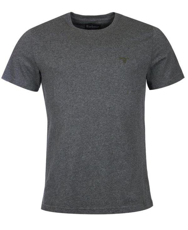 Camiseta Barbour Logo gris 3