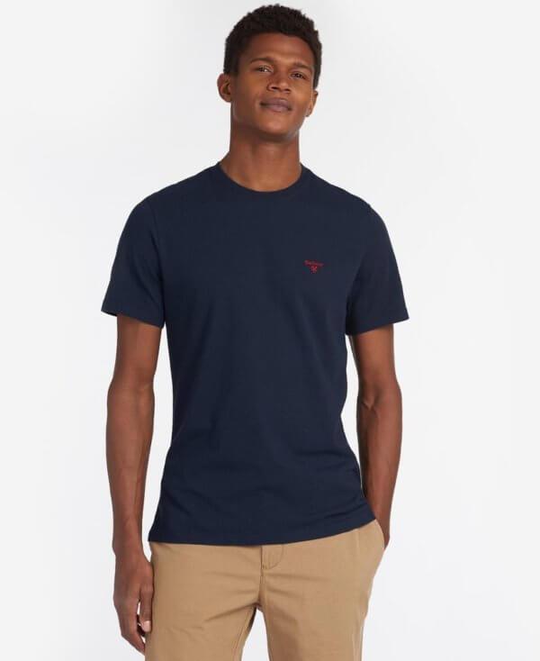 Camiseta Barbour Logo marino 1