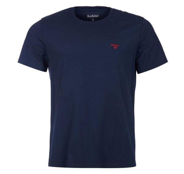 Camiseta Barbour Logo marino 3