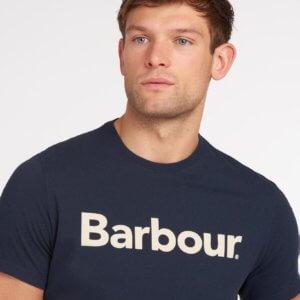 Camiseta Barbour logo heritage marino 2