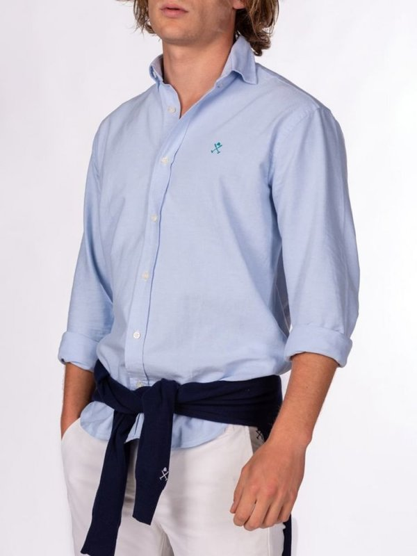 Camisa Harper & Neyer Oxford celeste 4