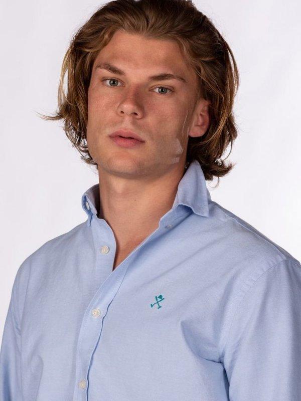 Camisa Harper & Neyer Oxford celeste 3
