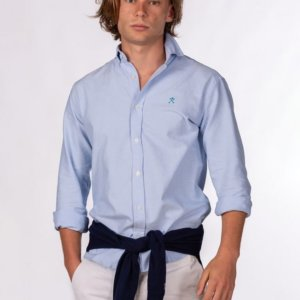 Camisa Harper & Neyer Oxford celeste 1