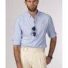 Camisa H&N los ángeles azul 1