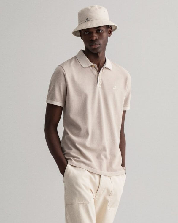 Polo Gant Putty beige 1