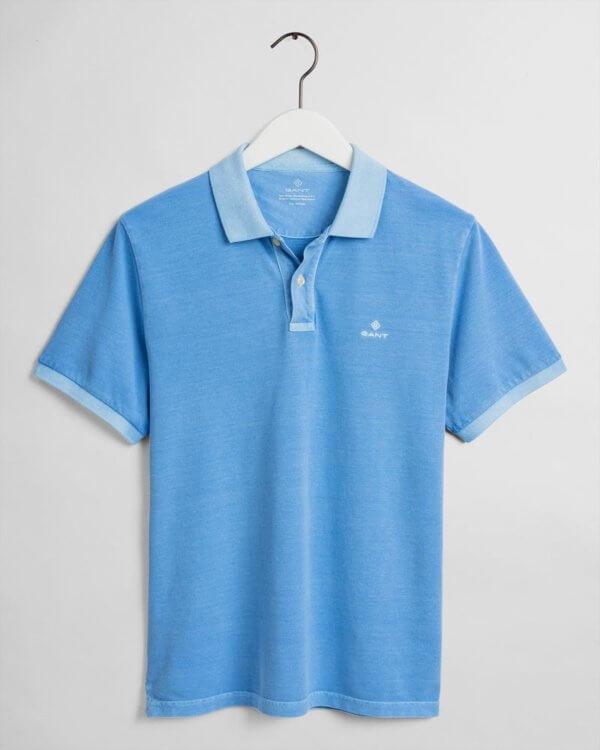 Polo Gant Pacific azul 3