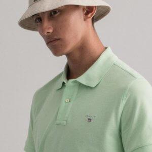 Polo Gant Pastel verde 2