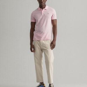 Polo Gant California rosa 1