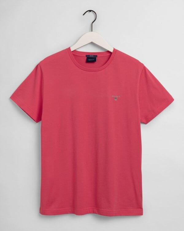 Camiseta Gant básica rosa 3