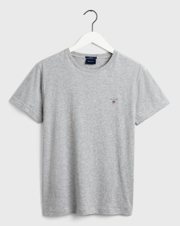 Camiseta Gant Melange gris 3