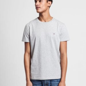 Camiseta Gant Melange gris 1