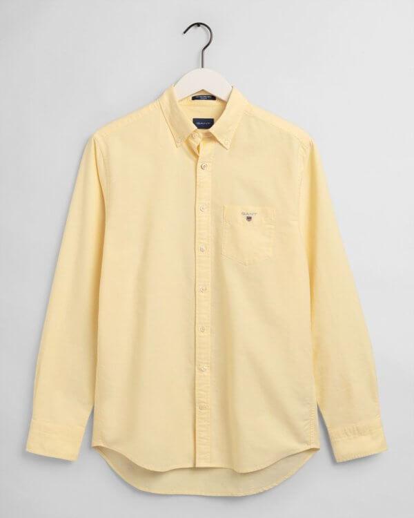 Camisa Gant Brimstone amarillo 3