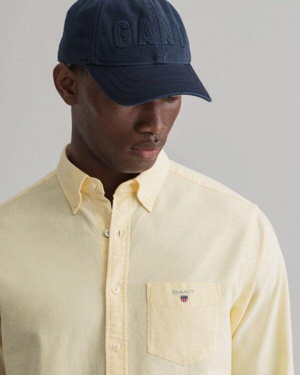 Camisa Gant Brimstone amarillo 2