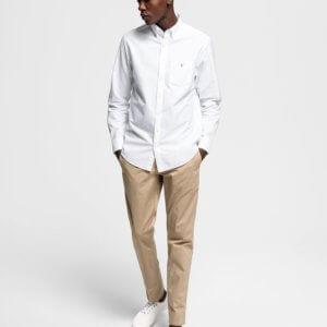 Camisa Gant Hamptons blanca 1