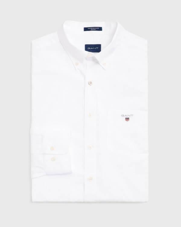 Camisa Gant Hamptons blanca 3
