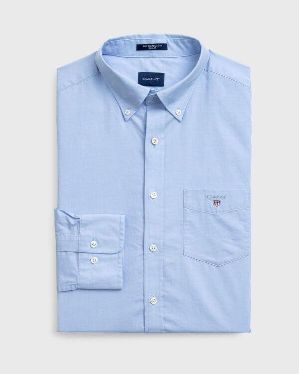 Camisa Gant Hamptons azul 3
