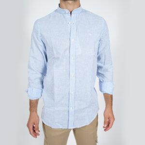 Camisa GO rayas celeste 1
