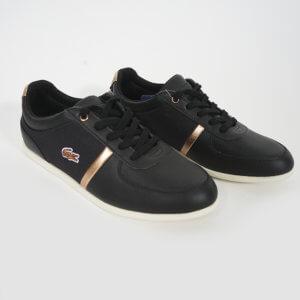 Zapatillas Lacoste Mujer Rey Sport negro 1