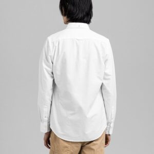 Camisa Gant oxford blanca 2