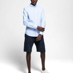 Camisa Gant oxford celeste 1