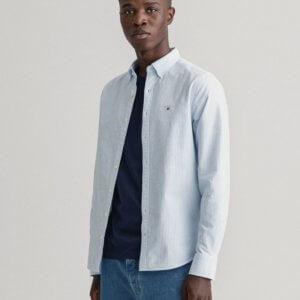 Camisa Gant oxford raya celeste 1