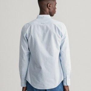 Camisa Gant oxford raya celeste 2