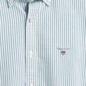 Camisa Gant oxford raya verde 2