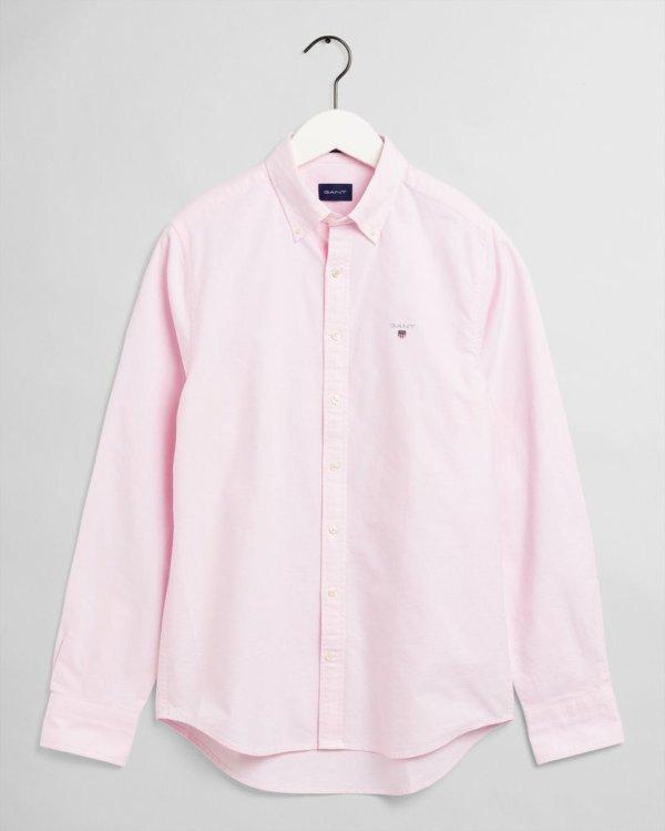 Camisa Gant oxford light rosa 1