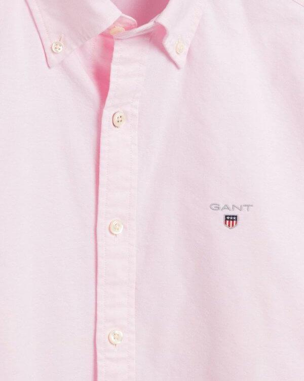Camisa Gant oxford light rosa 2