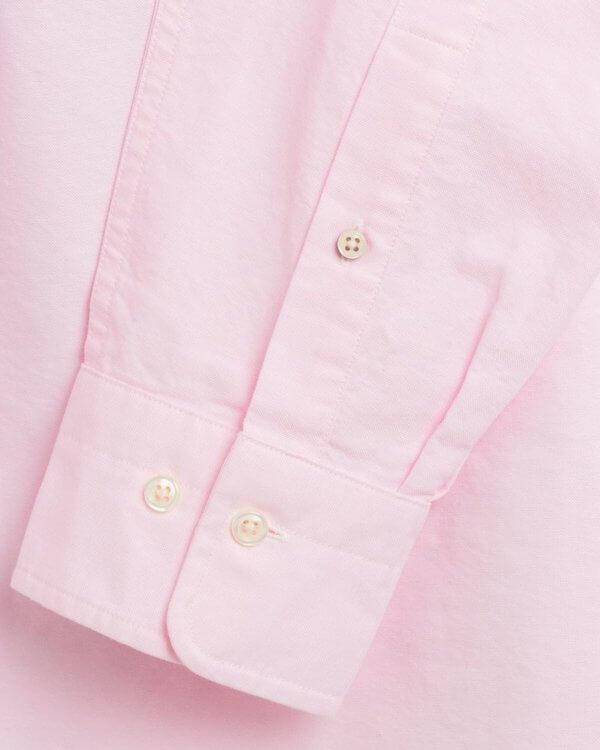 Camisa Gant oxford light rosa 3