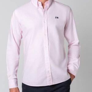 Camisa Scotta 1985 oxford rosa 1
