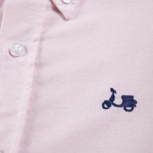Camisa Scotta 1985 oxford rosa 2
