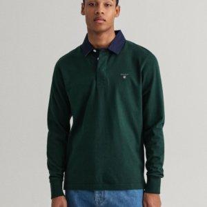 Polo Gant rugger verde 1