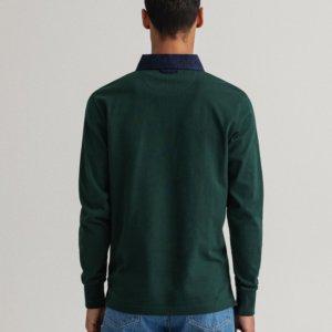 Polo Gant rugger verde 2