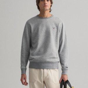 Sudadera Gant básica gris 1