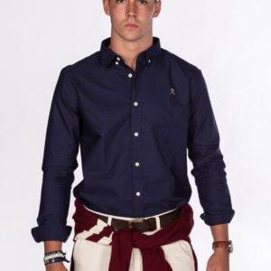Camisa H&N loring oxford marino 1