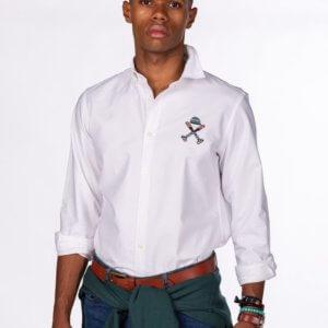 Camisa H&N navajo blanca 1