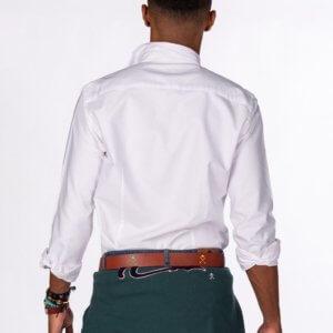 Camisa H&N navajo blanca 2