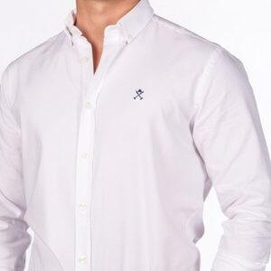 Camisa H&N nos oxford blanco 2