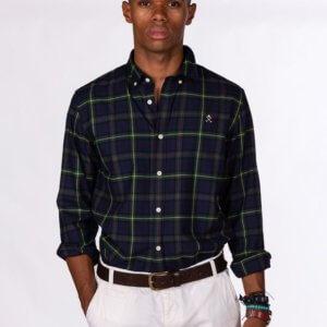 Camisa H&N scotish verde 1